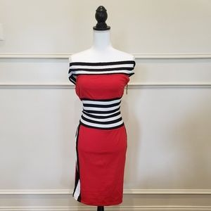 Racer Skirt Set